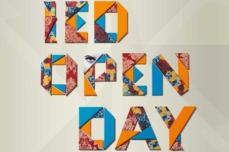 Caso di studio: IED Open Day, costruire un font a mano... letteralmente