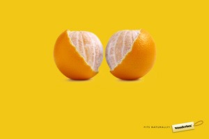 Wonderbra, advertising without clothes and without... models