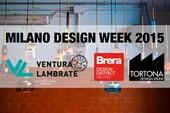 Milano Design Week 2015, Design Districts